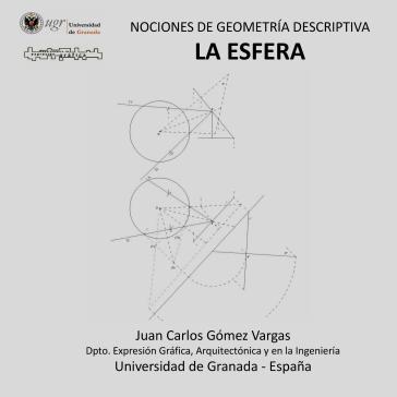 Portada del curso Nociones de Geometría Descriptiva. La Esfera