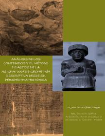 Análisi de los contenidos y el método didáctico de la asignatura de Geometría Descriptiva desde su perspectiva histórica en iBookStore