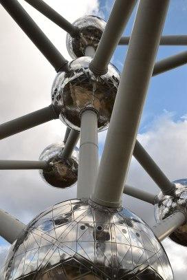 Atomium de Bruselas. Fuente: Wikipedia