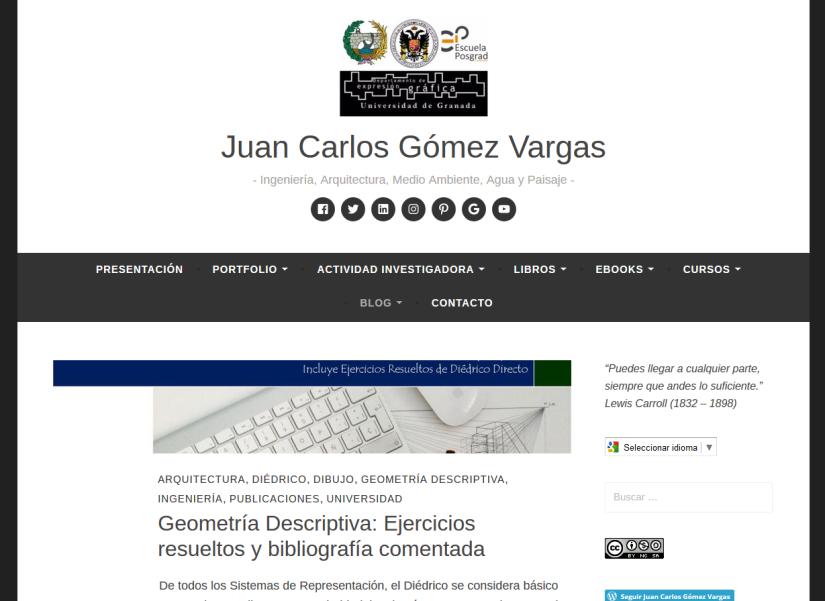 2017-06-29 09_46_29-Juan Carlos Gómez Vargas – Ingeniería, Arquitectura, Medio Ambiente, Agua y Pais