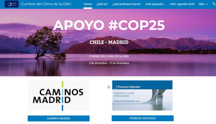 2019-11-26 09_21_36-Cumbre del Clima de la ONU